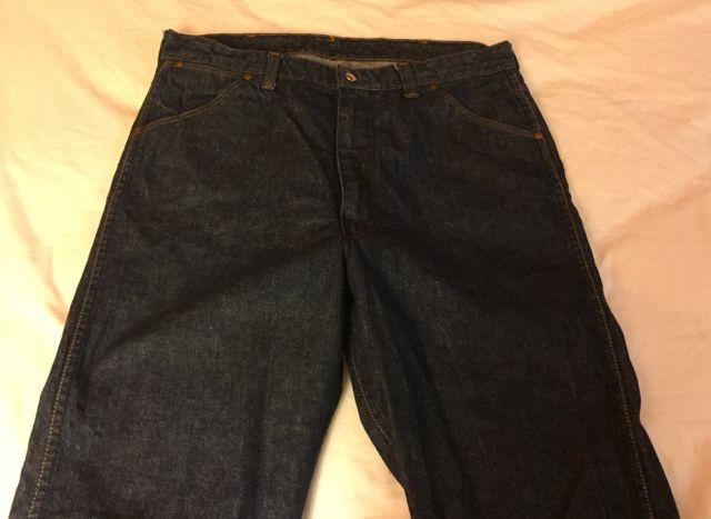 ゴールデンウィーク第2弾 4/30 入荷!50−60s Wrangler BLUE BELL   Jeans !!_c0144020_18212142.jpg