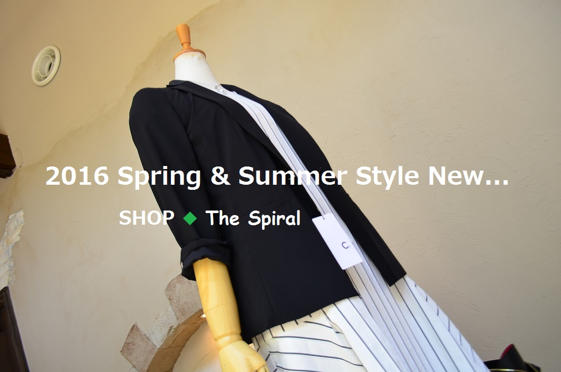 """2016 Spring & Summer Style New... 4/29fri\""_d0153941_13423071.jpg"
