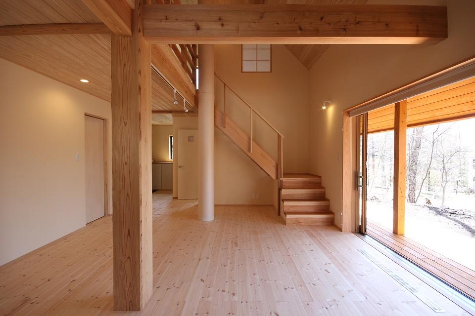 「清里の森の家」「北相木村の家」お引渡し致しました_d0078471_17555961.jpg