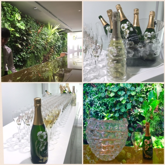 「L'Eden by Perrier-Jouët (レデン バイ ペリエ ジュエ)」レセプション_a0138976_16571067.jpg