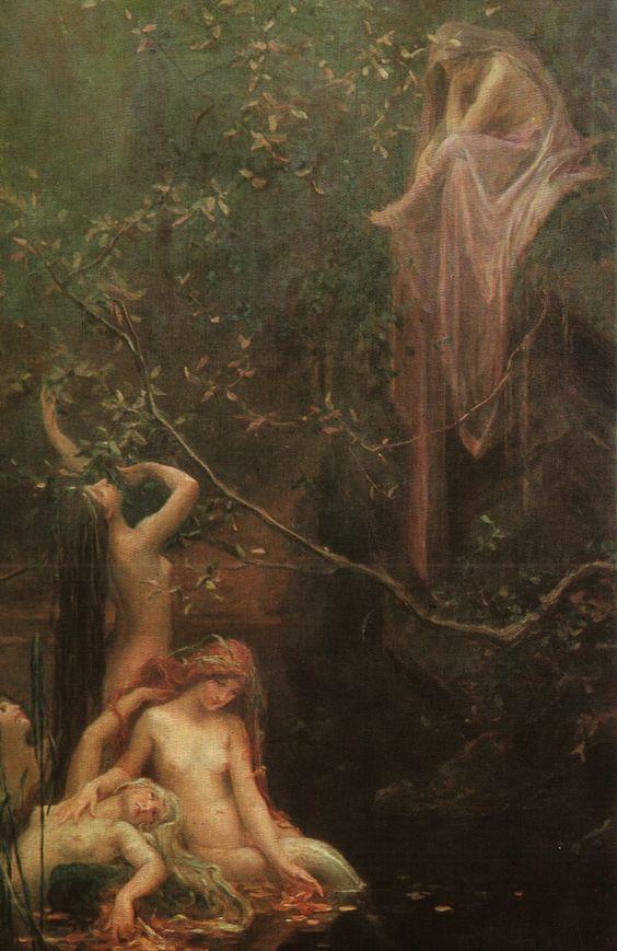Maxmilián Pirner:Fairies at the Spring_c0084183_1552211.jpg