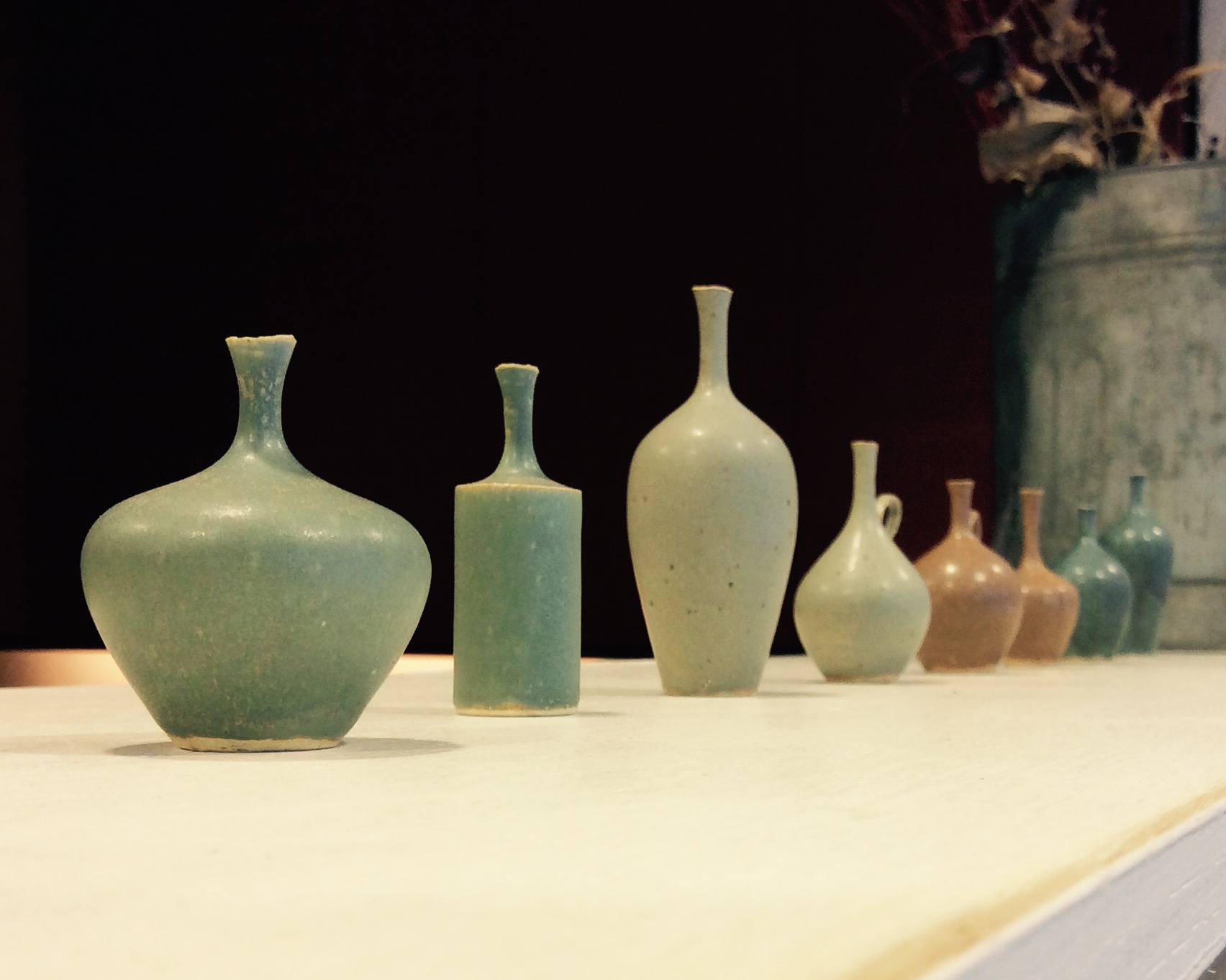 和田麻美子作陶の花器が入荷しております。_b0141685_16481292.jpg