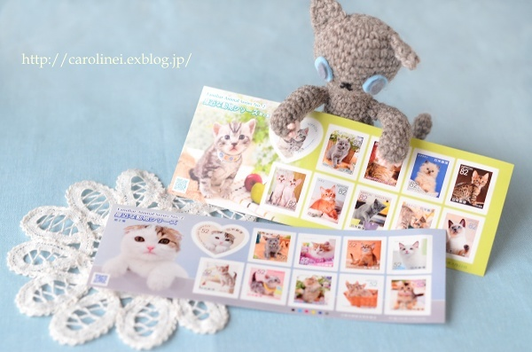 かわいい猫切手  Cute Cat Stamps_d0025294_16034897.jpg