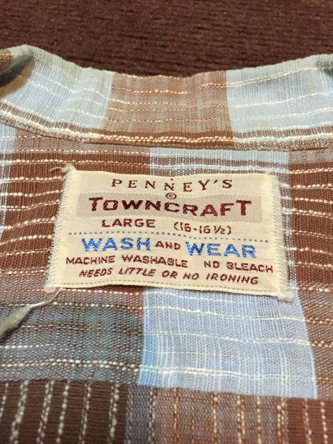 ゴールデンウィーク入荷! 第3弾 60s〜 PENNY\'S TOWNCROFT shirts!!_c0144020_19305074.jpg