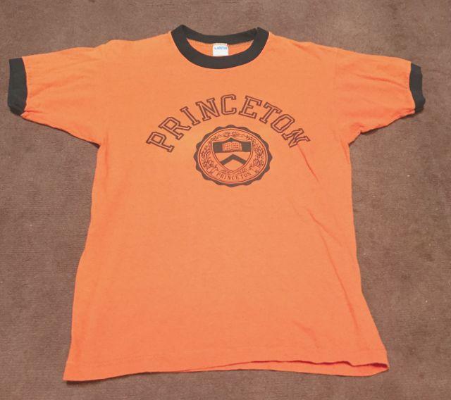 ゴールデンウィーク入荷! 第3弾 70's Champion バータグ Princeton 染込み Tシャツ! _c0144020_19325022.jpg