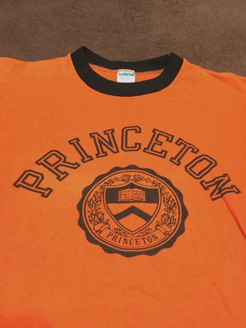 ゴールデンウィーク入荷! 第3弾 70's Champion バータグ Princeton 染込み Tシャツ! _c0144020_19325484.jpg
