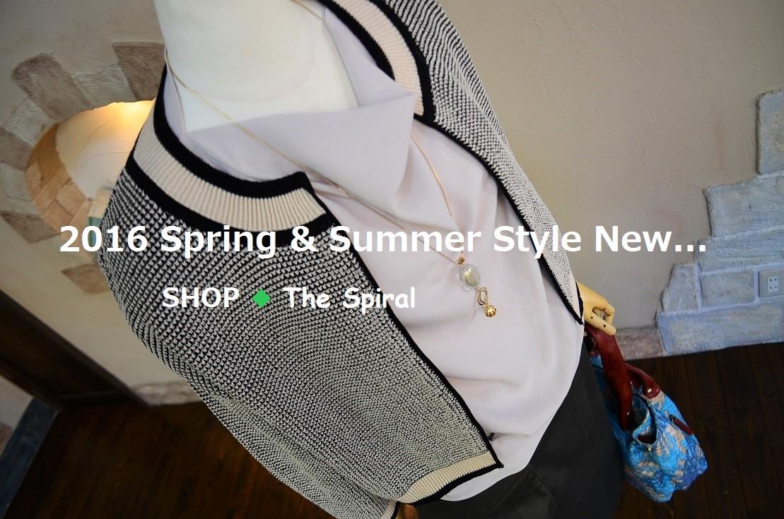 """2016 Spring & Summer Style New... 4/30sat\""_d0153941_1649392.jpg"