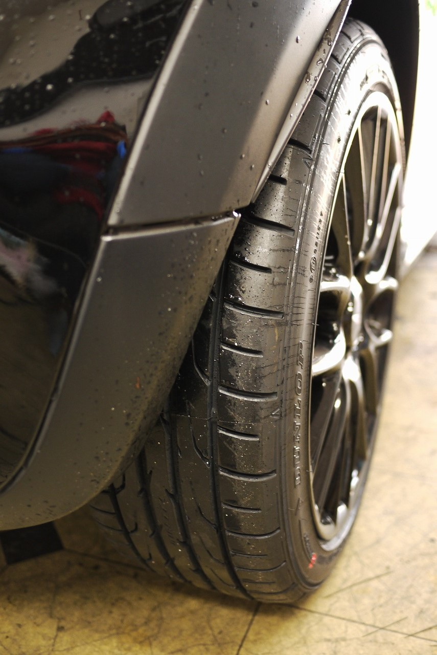 BMWミニ ジョンクーパータイヤ交換_d0171835_14515681.jpg