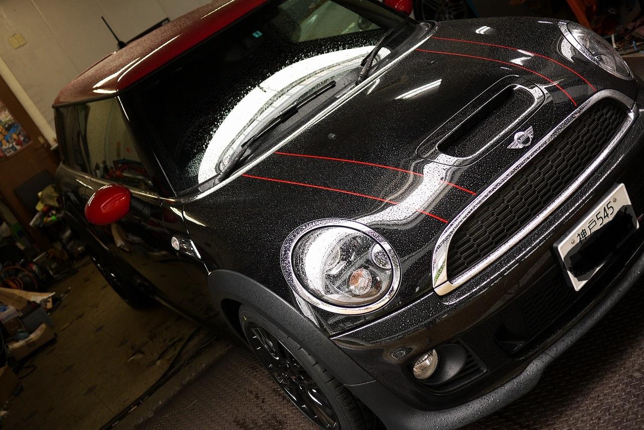 BMWミニ ジョンクーパータイヤ交換_d0171835_14532538.jpg