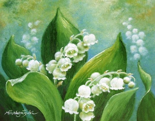 油画家、永月水人のArt  - milk  - ☆ Milk ☆ 平平。淡淡。也是真。