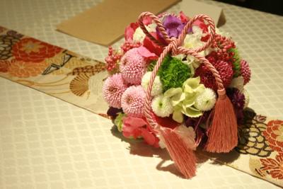 博多百年蔵 会場装花(春です♫)_e0149863_1484280.jpg