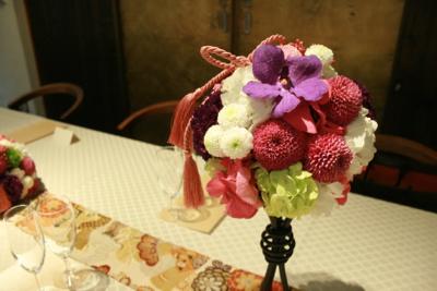 博多百年蔵 会場装花(春です♫)_e0149863_149182.jpg