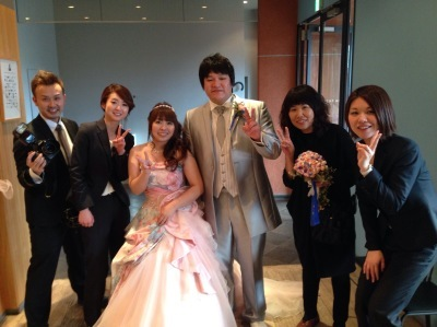 Happy Wedding!! Ryu &Misato_e0120789_12510813.jpg
