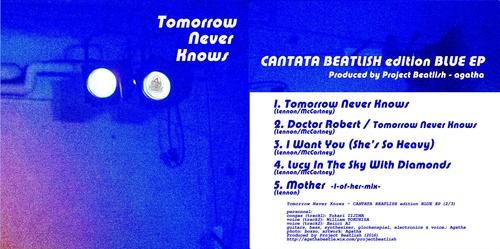 CANTATA BEATLISH edition BLUE EP_e0303005_1415560.jpg
