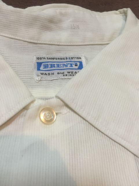 ゴールデンウィーク入荷! 第4弾 60s〜BRENT all cotton white shirts!!_c0144020_14123858.jpg