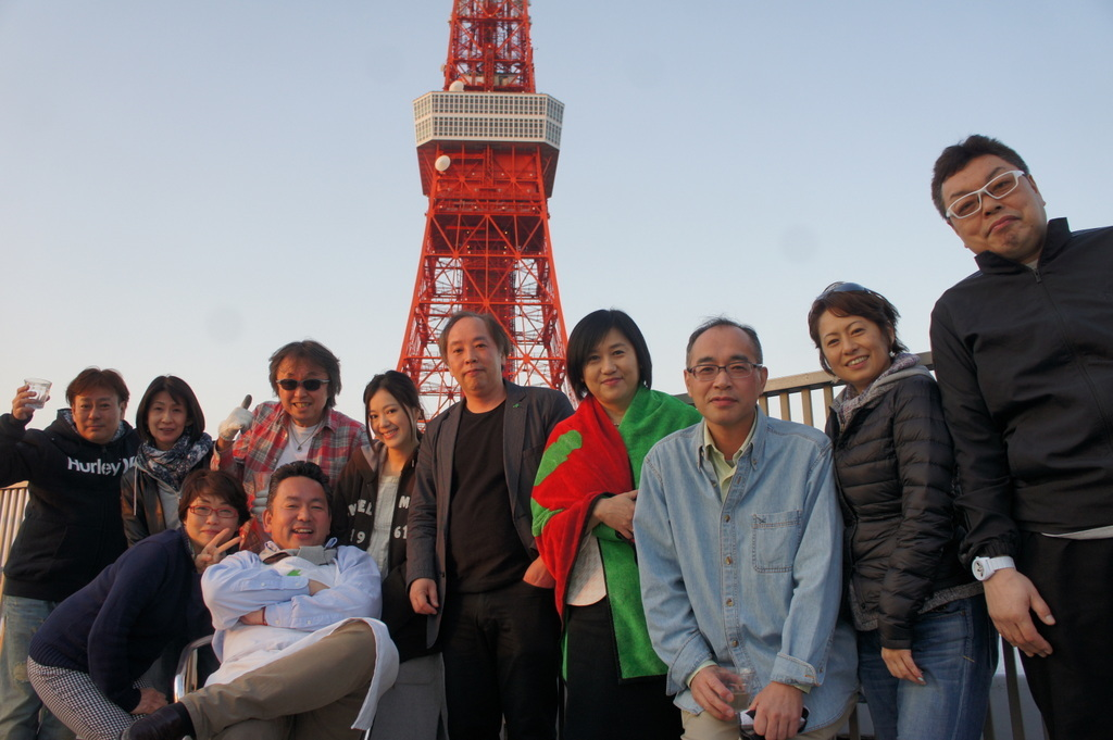 麻布のアパートで東京タワーと炭火焼Vol.1。_c0180686_02431221.jpg