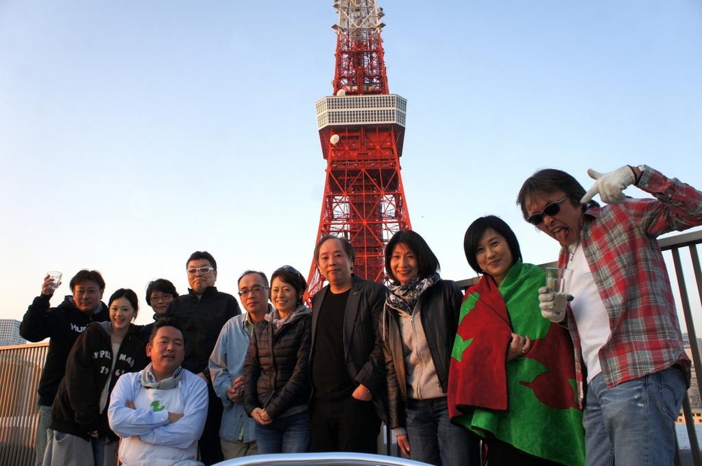 麻布のアパートで東京タワーと炭火焼Vol.1。_c0180686_02432289.jpg