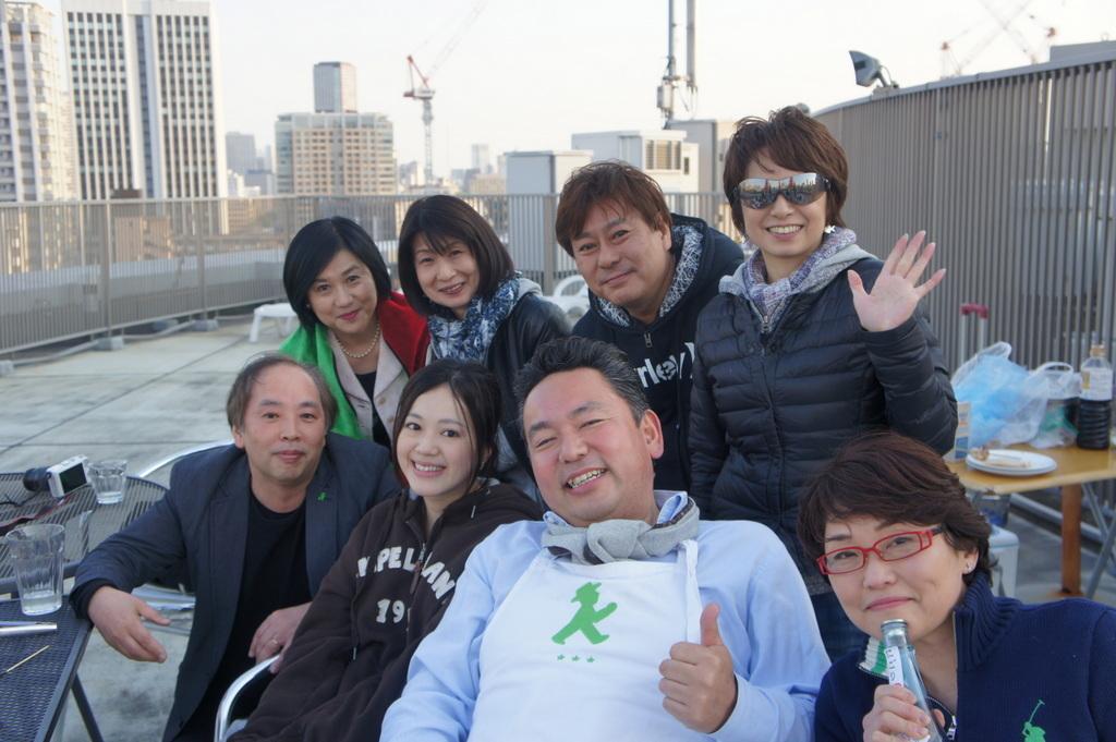 麻布のアパートで東京タワーと炭火焼Vol.1。_c0180686_02432956.jpg