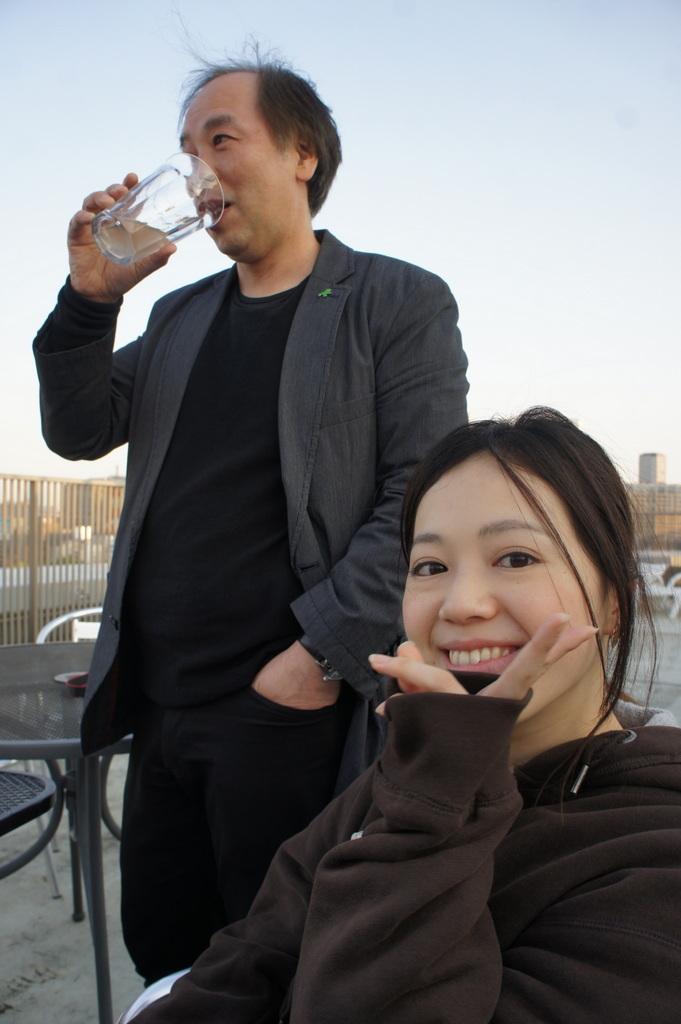 麻布のアパートで東京タワーと炭火焼Vol.1。_c0180686_02434078.jpg