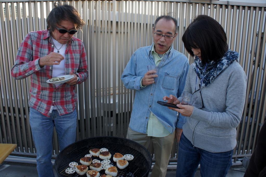 麻布のアパートで東京タワーと炭火焼Vol.1。_c0180686_02440620.jpg
