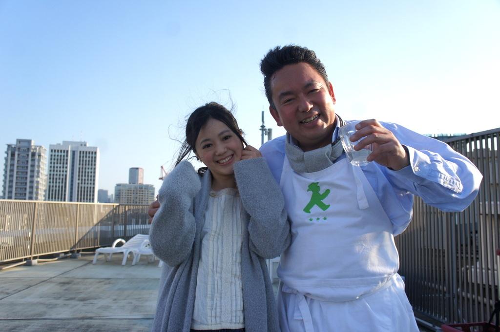 麻布のアパートで東京タワーと炭火焼Vol.1。_c0180686_02445013.jpg