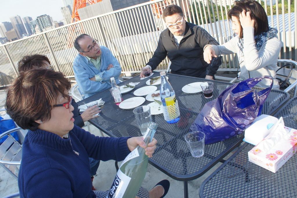 麻布のアパートで東京タワーと炭火焼Vol.1。_c0180686_02445726.jpg