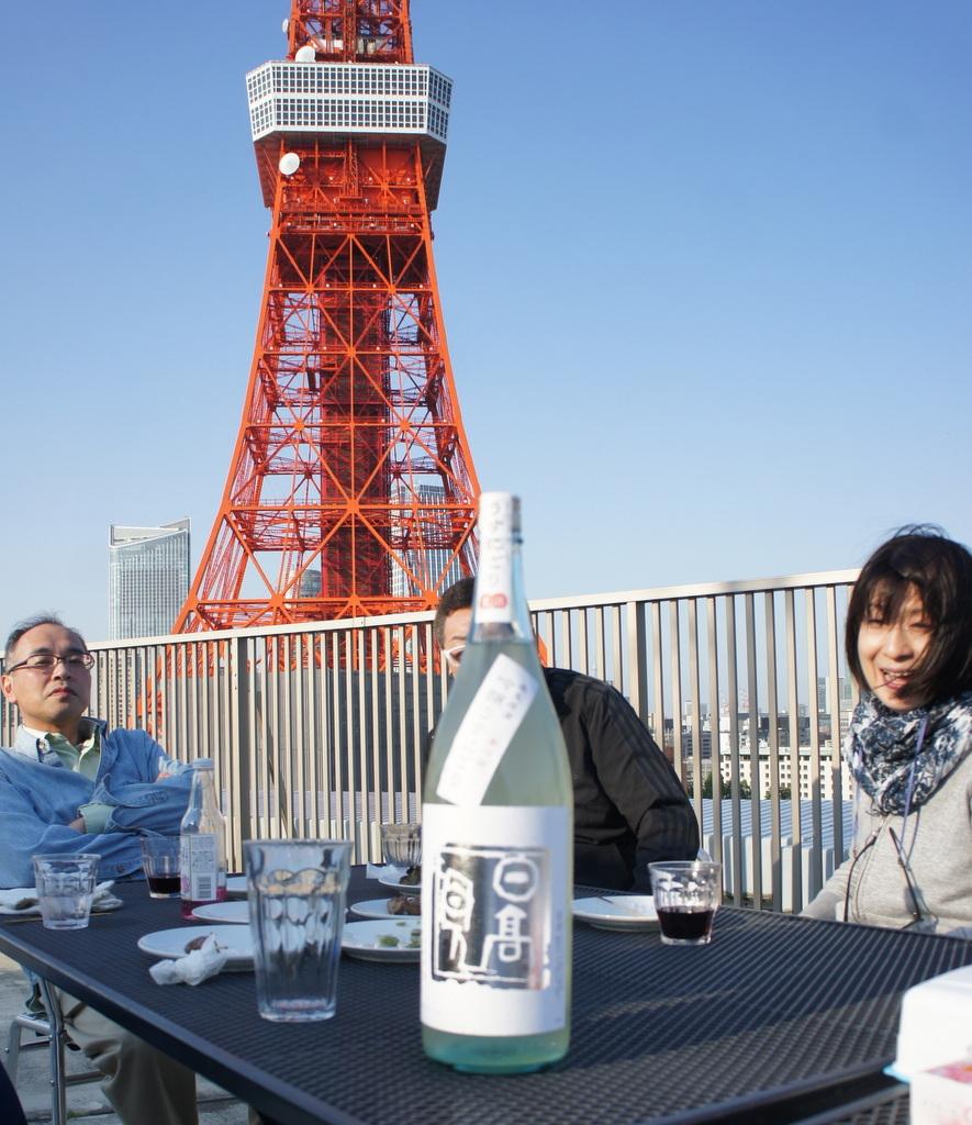 麻布のアパートで東京タワーと炭火焼Vol.1。_c0180686_02450098.jpg