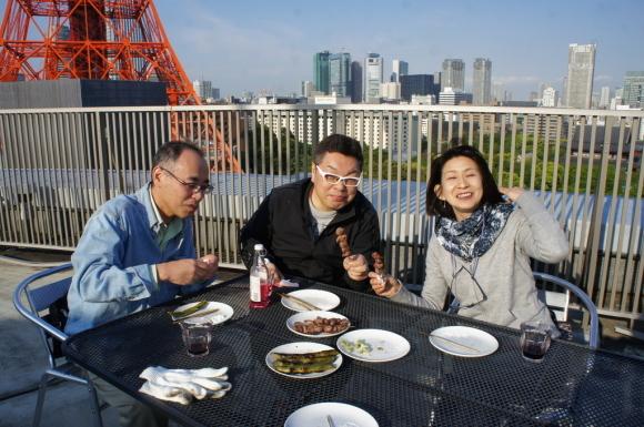 麻布のアパートで東京タワーと炭火焼Vol.1。_c0180686_02452929.jpg