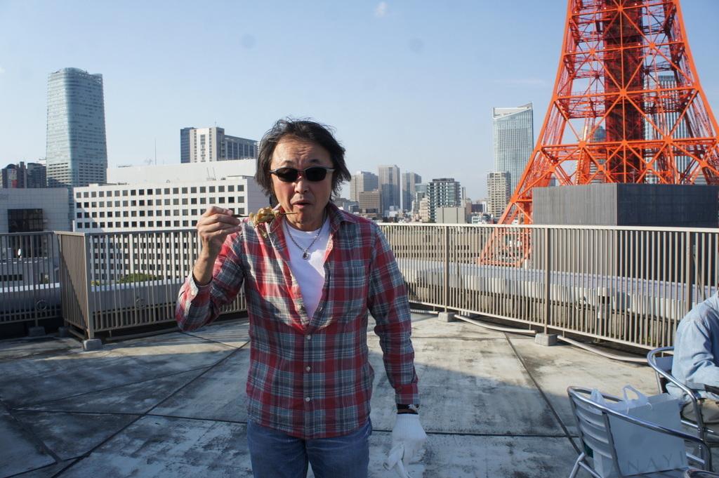 麻布のアパートで東京タワーと炭火焼Vol.1。_c0180686_02454444.jpg