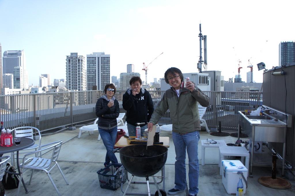 麻布のアパートで東京タワーと炭火焼Vol.1。_c0180686_02460485.jpg