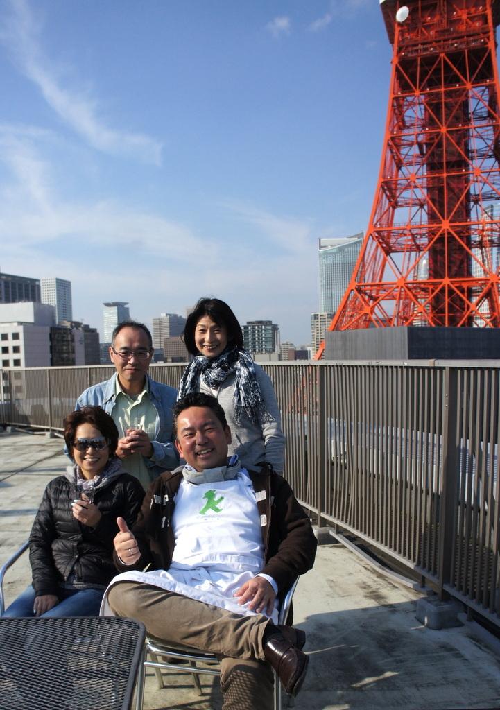 麻布のアパートで東京タワーと炭火焼Vol.1。_c0180686_02461058.jpg