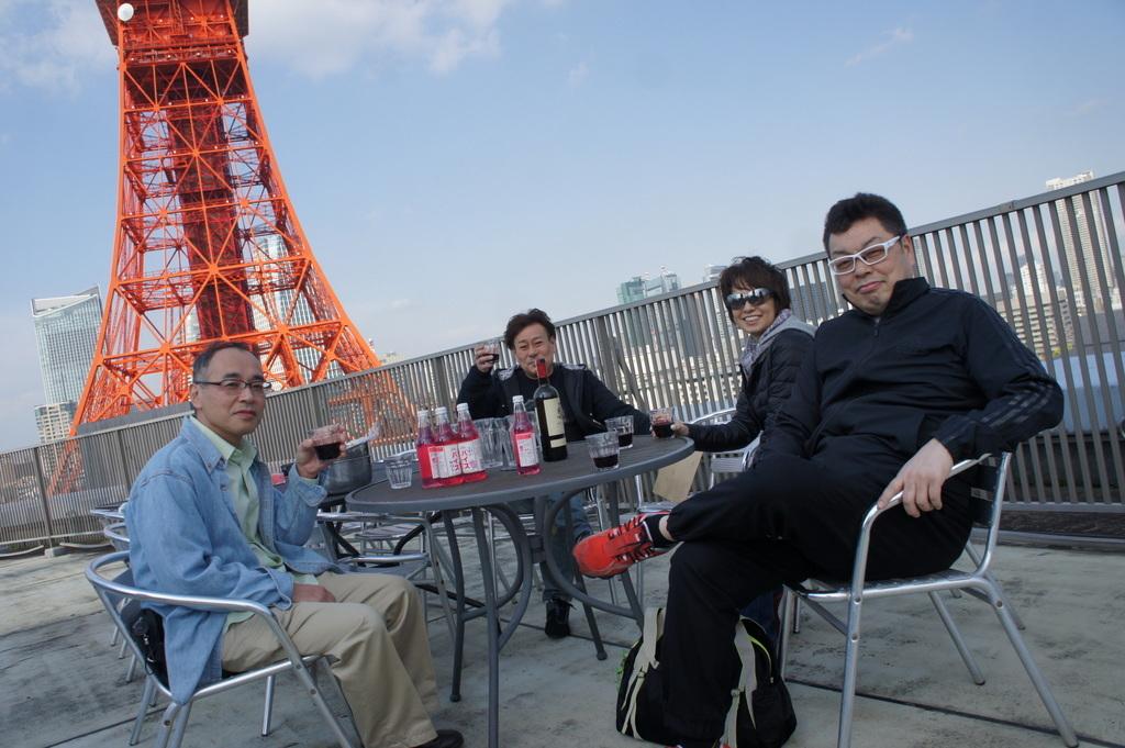 麻布のアパートで東京タワーと炭火焼Vol.1。_c0180686_02461462.jpg