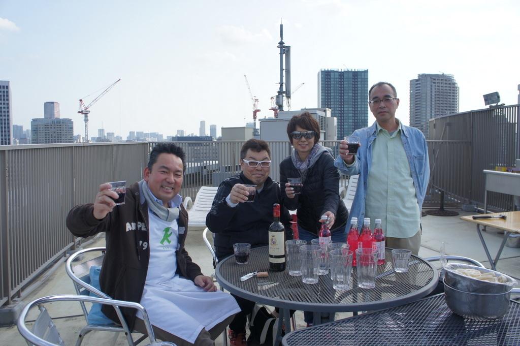 麻布のアパートで東京タワーと炭火焼Vol.1。_c0180686_02462203.jpg