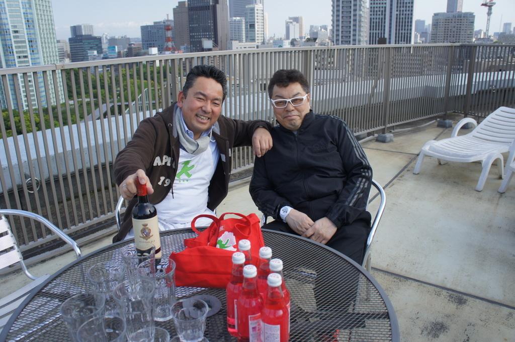 麻布のアパートで東京タワーと炭火焼Vol.1。_c0180686_02463423.jpg
