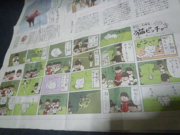 新聞をバイト先でもらってくる_b0217741_02040965.jpg