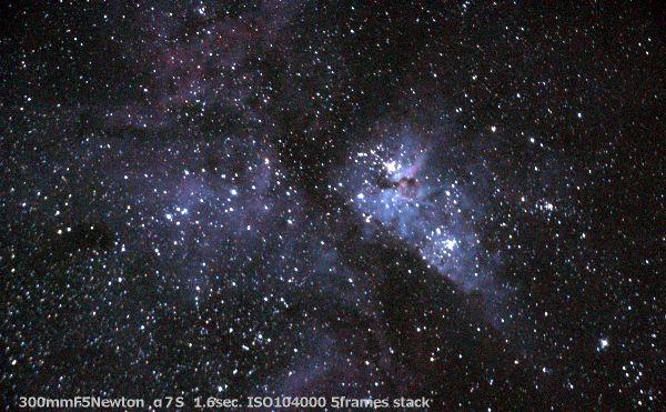 トラベルドブでηカリーナ星雲を撮ってみた_a0095470_130414.jpg