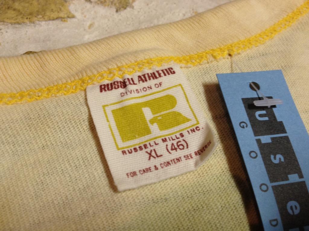 神戸店5/4(水)ヴィンテージ入荷!#4 Vintage T① Russell!Hanes!!!+5/5(木)こどもの日企画!_c0078587_1317563.jpg