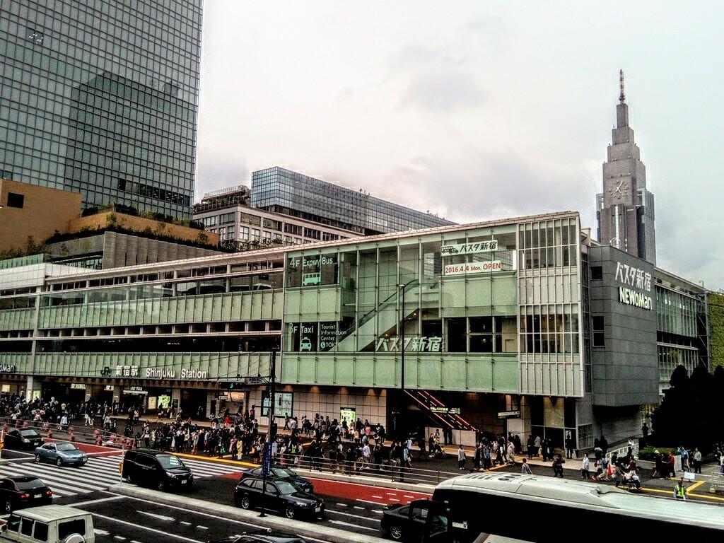 バスタ新宿とNEWoManあたり_a0057402_22282965.jpg