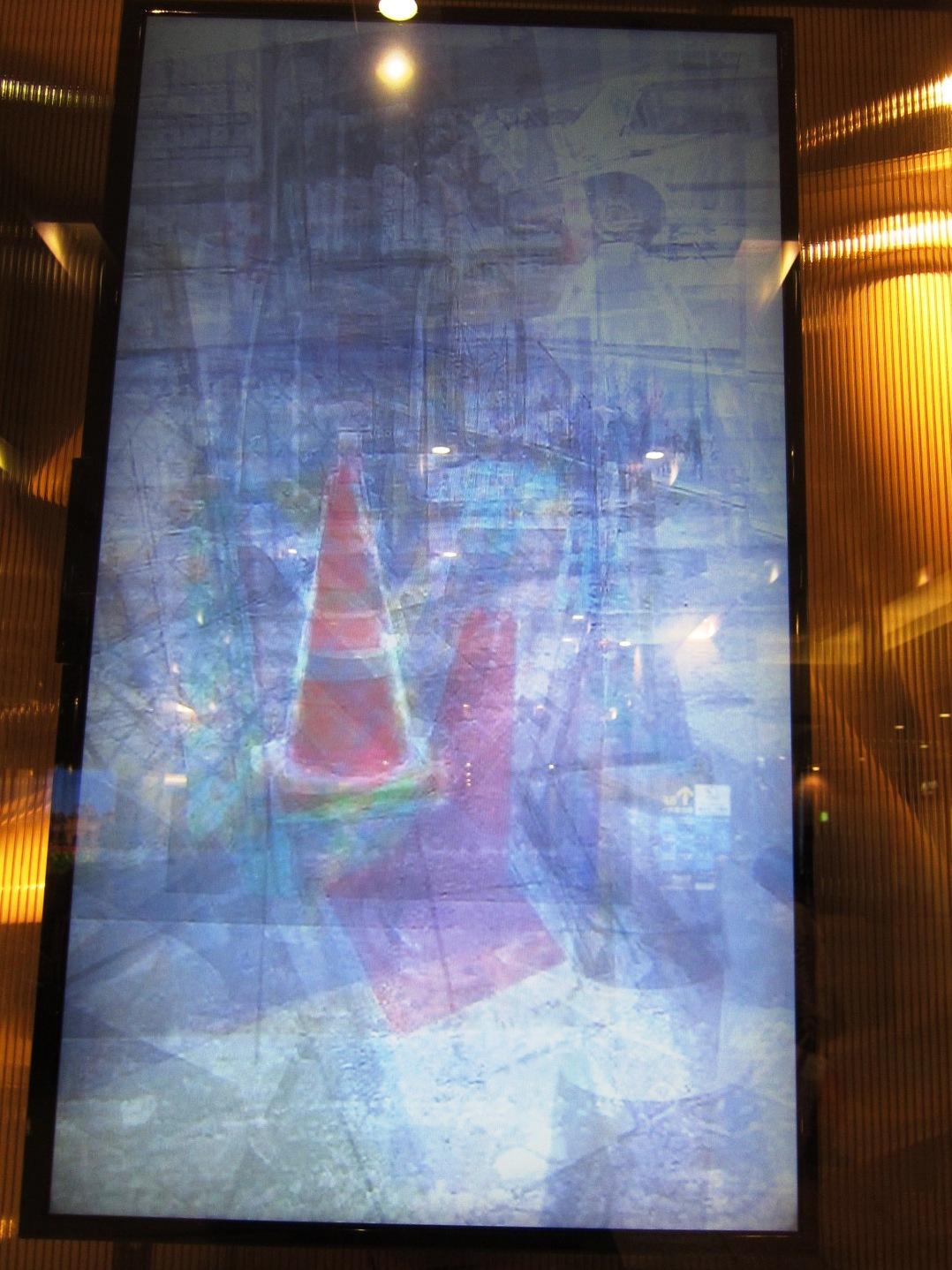 2509)「北芳樹(美術家) [Around the Roadcones] 」JRタワーARTBOX 3月5日(土)~5月31日(月)_f0126829_10274318.jpg