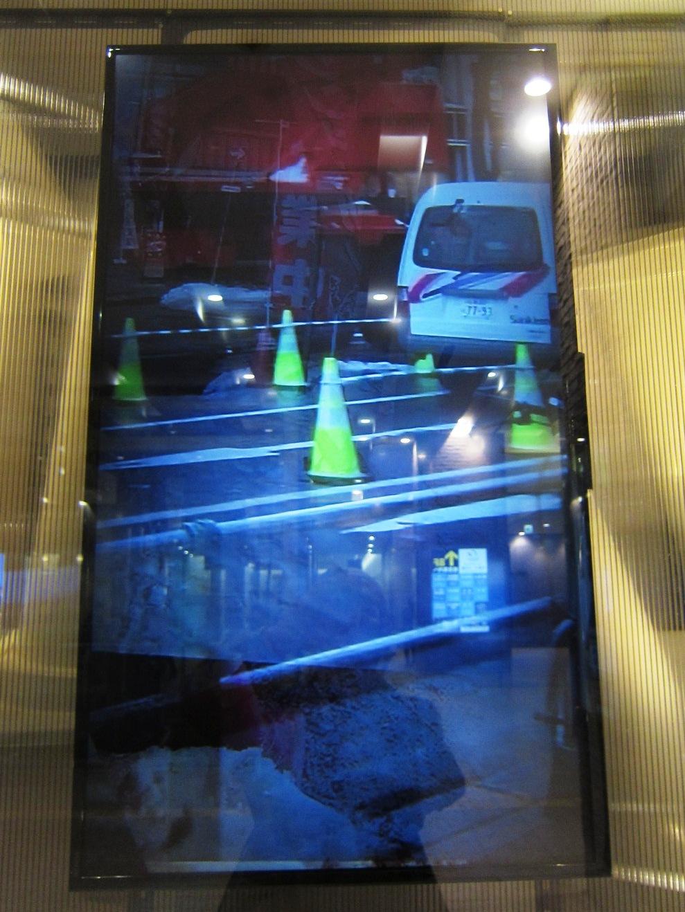 2509)「北芳樹(美術家) [Around the Roadcones] 」JRタワーARTBOX 3月5日(土)~5月31日(月)_f0126829_10285624.jpg