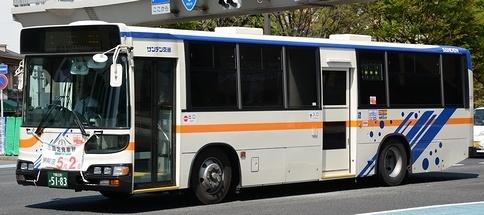 サンデン交通 日野KL-HU2PMEA +日野車体_e0030537_23101963.jpg