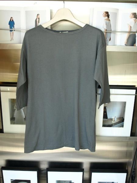 着心地の良い服 体型が目立たずに綺麗に着れるMILFOILオーガニックコットン五分袖カットソー_e0122680_19340183.jpg