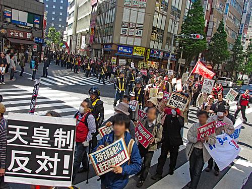 「昭和の日」反対 原発反対 安倍政権退陣_a0188487_20483281.jpg
