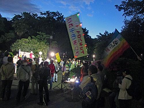 「昭和の日」反対 原発反対 安倍政権退陣_a0188487_20493187.jpg
