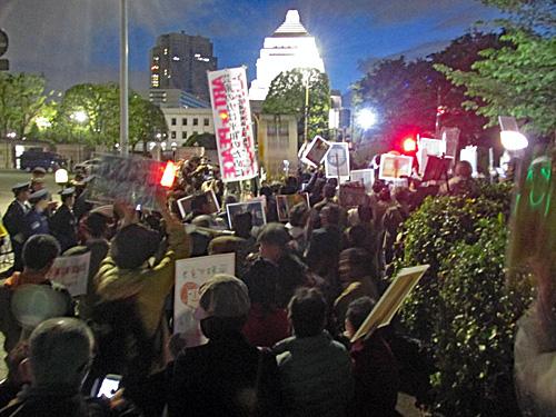「昭和の日」反対 原発反対 安倍政権退陣_a0188487_20493967.jpg