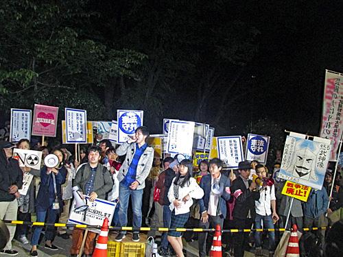 「昭和の日」反対 原発反対 安倍政権退陣_a0188487_20494881.jpg