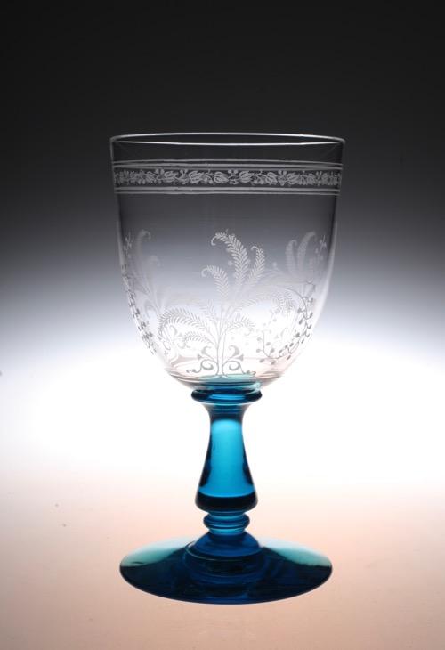 """Baccarat Blue stem \""""Fougeres\""""_c0108595_2343549.jpg"""
