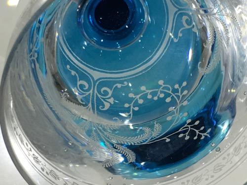 """Baccarat Blue stem \""""Fougeres\""""_c0108595_23583384.jpg"""