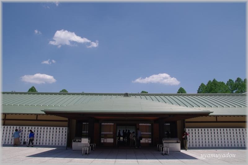 京都迎賓館・参観 [ 正面玄関 ]_a0157263_07224180.jpg