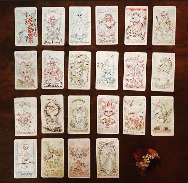 ERICO mini tarot card ご予約について_f0068174_16392121.jpg